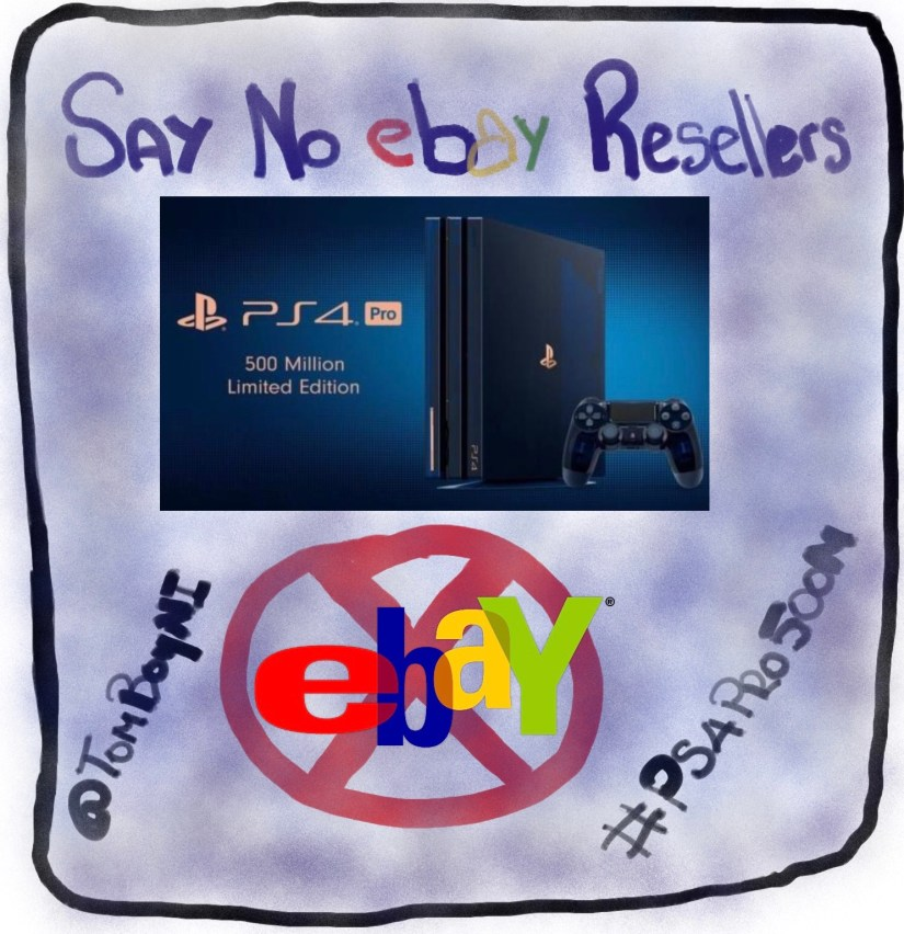 Say NO to the eBay Scalpers. It is the only way to beat them.