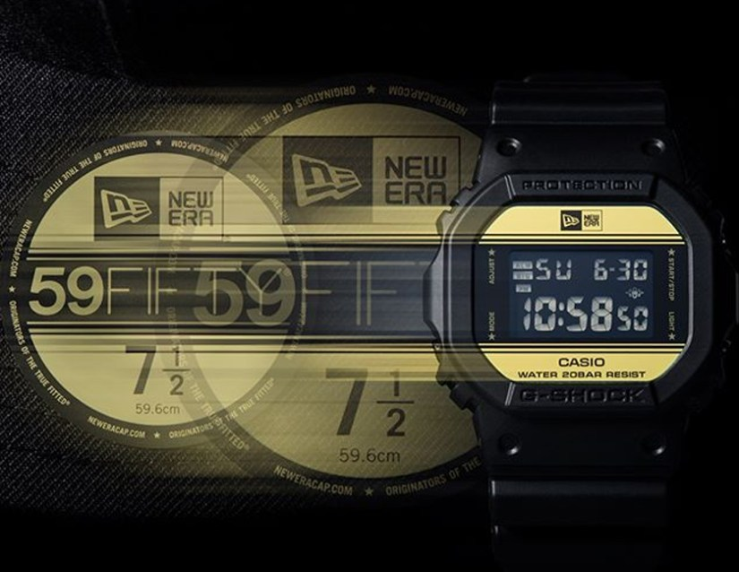 Casio G-Shock DW-5600 New Era X Limited Edition