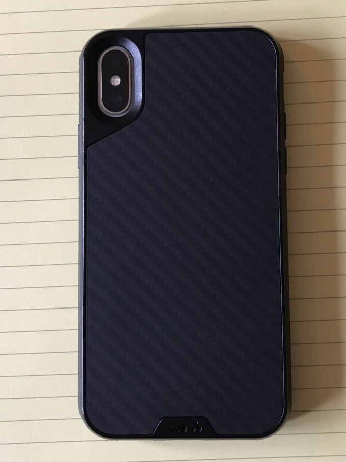 Mous Limitless 2.0 Leather iPhone X Case