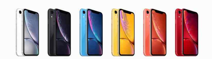 iPhone XR Range