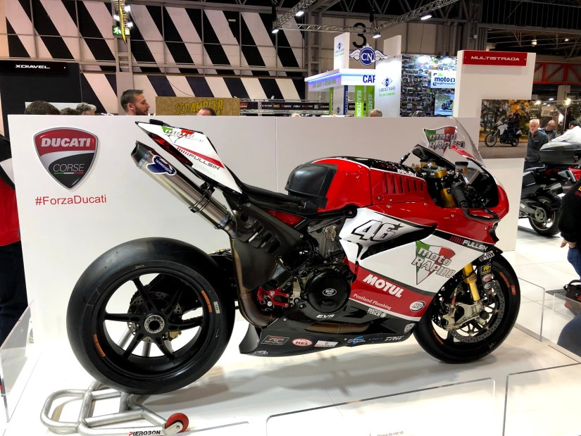 Ducati at Motorcycle Live 2018