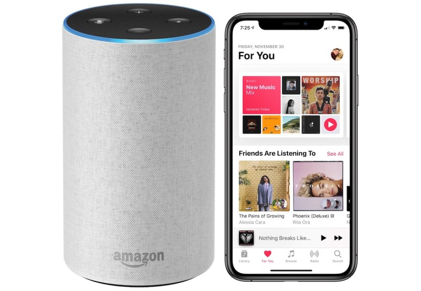 Apple Music is coming to Amazon Echo Devices