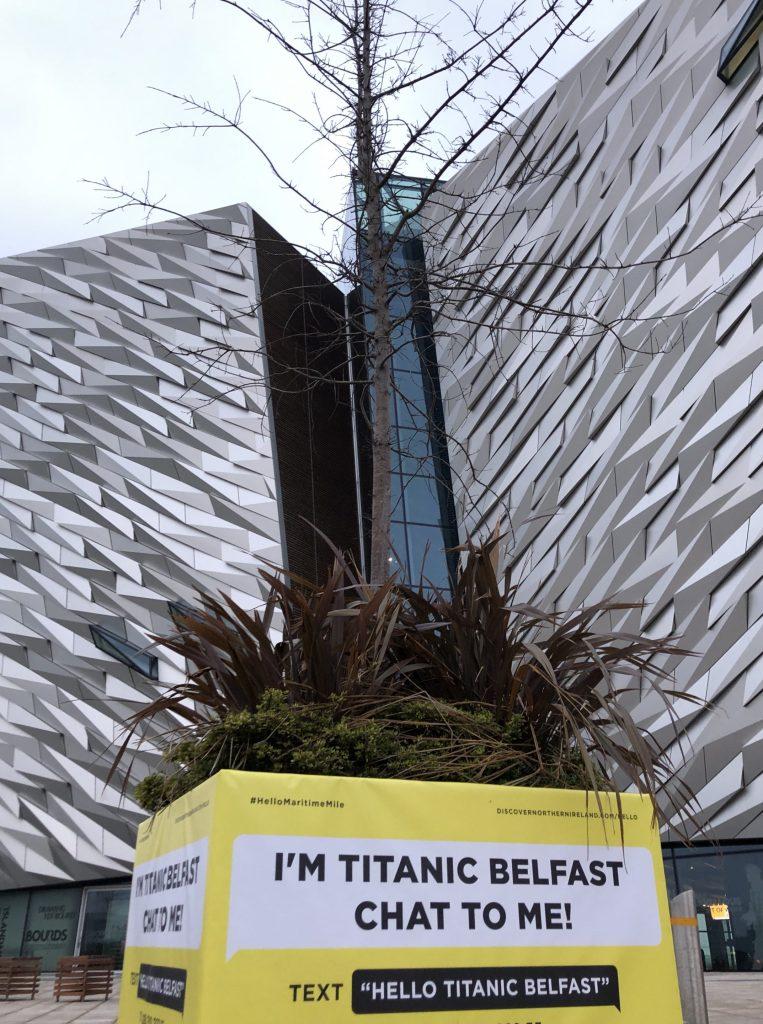 Hello Maritime Mile - Titanic Belfast