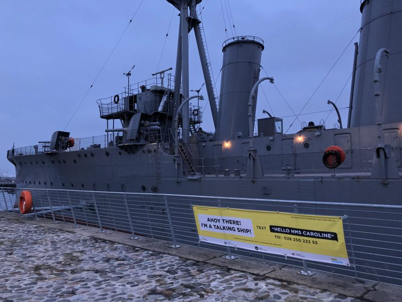 Hello Maritime Mile - HMS Caroline