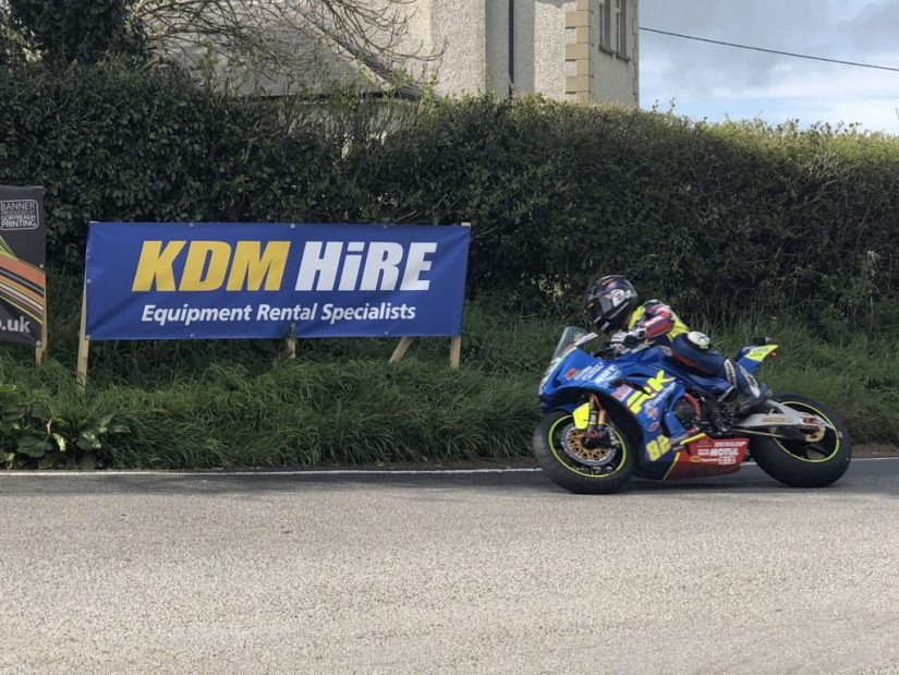 Derek Shiels off to an impressive start to his 2019 Road Racing Season at the Cookstown 100