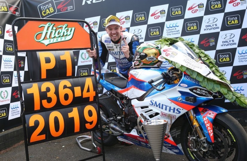 Peter Hickman Lap Record Ulster Grand Prix 2019