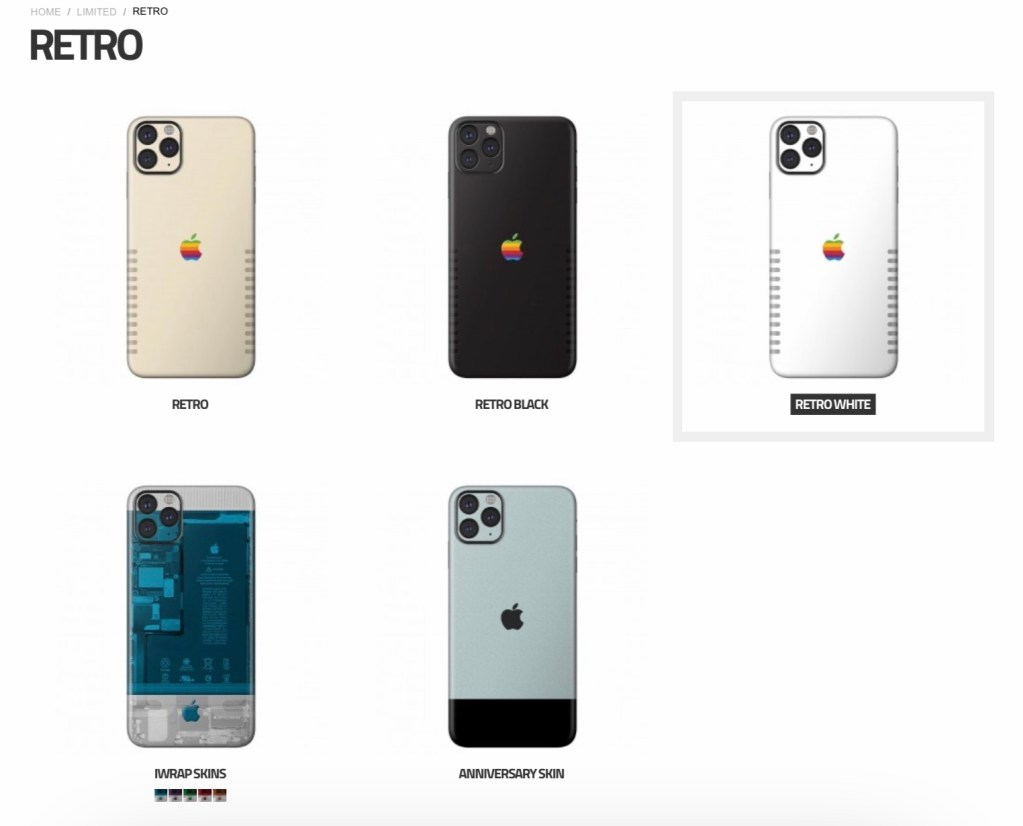 Slickwraps Apple Retro Skins