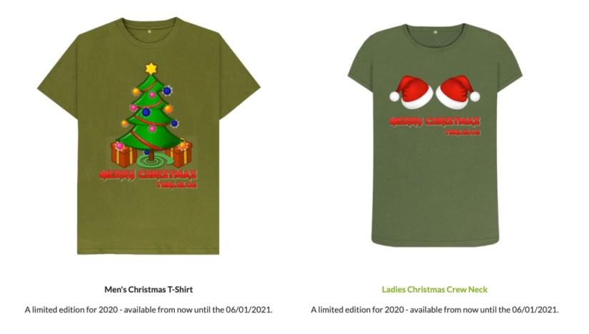 2020 TBNI.Blog Christmas T-Shirts Released