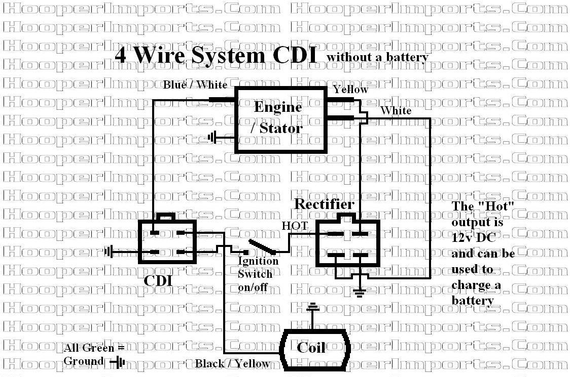 motorcycle wiring diagram on 4 wire rectifier wiring diagram system
