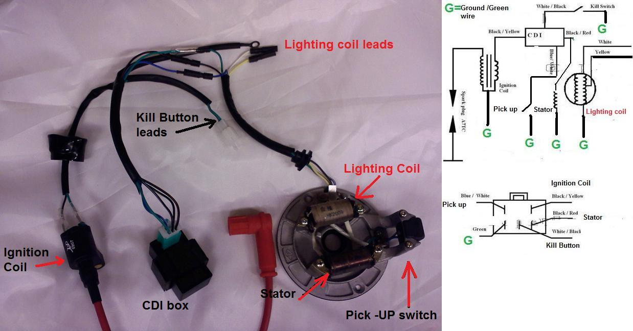 Dirt Bike Cdi Wiring Diagram On Honda Dirt Bike 70cc Wiring Diagram