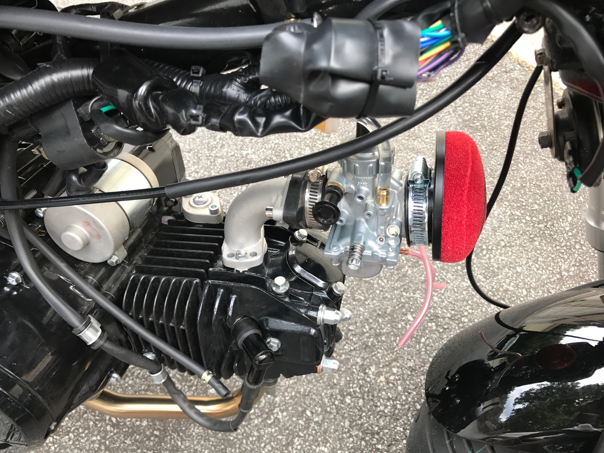 110 Loncin Wiring Diagram Mikuni Vm26 Carburetor Conversion Parts For Ssr Razkull