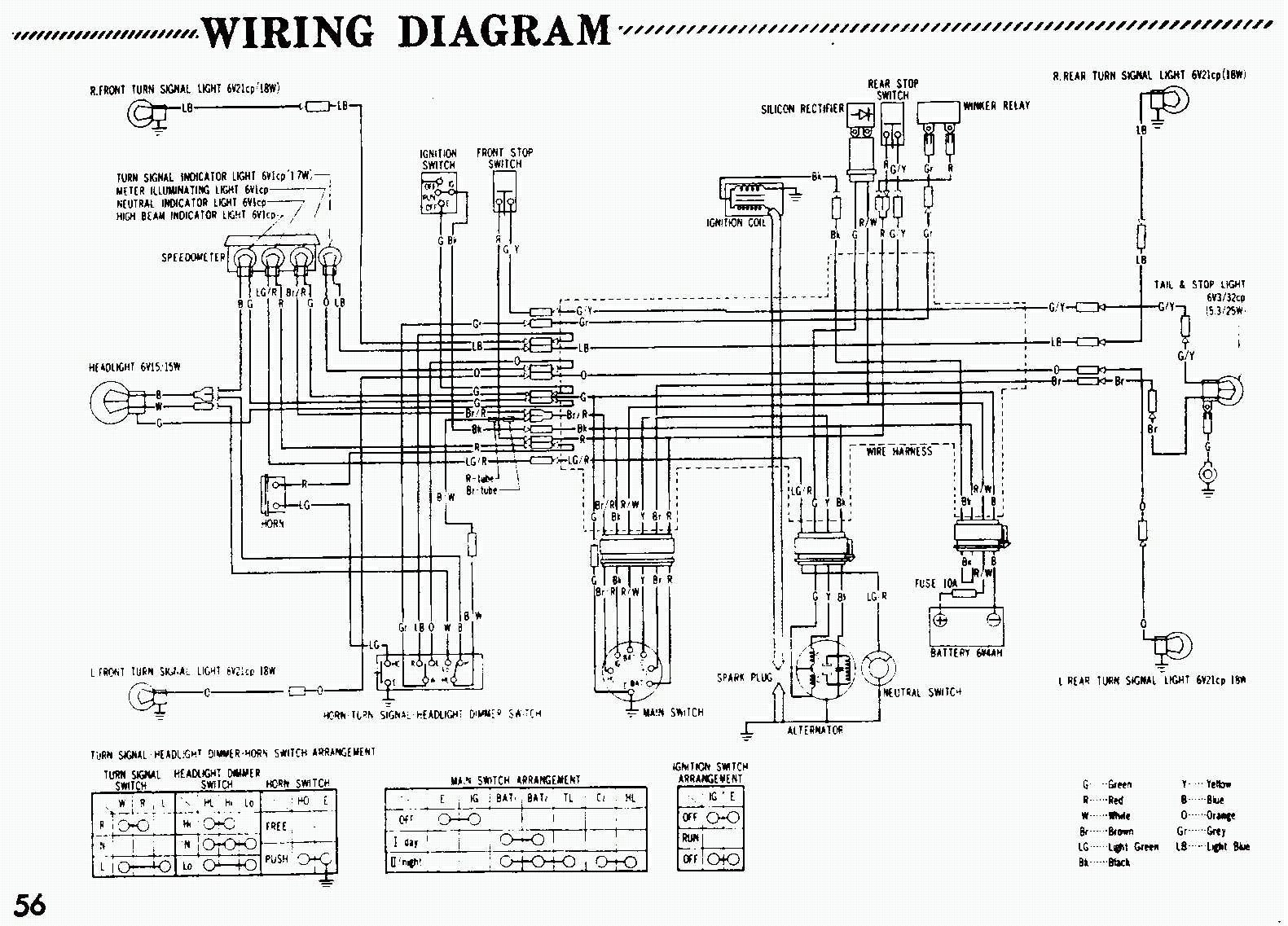 Honda Z50 Custom | Wiring Diagram Database on