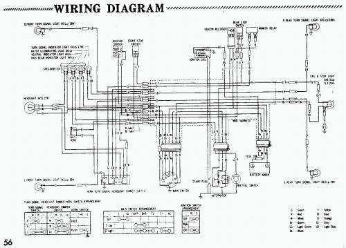 small resolution of honda xr70 wire diagram simple wiring diagram site diagrama honda xr75