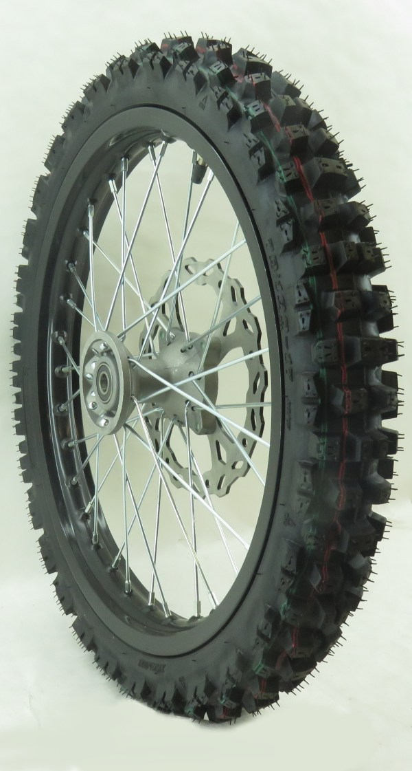 Thumpstar - Front 17in Wheel With Tire And Rim Lock Tmp