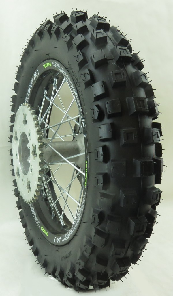 Thumpstar - Wheel Rear 12in With Tire And Rim Lock Tmp