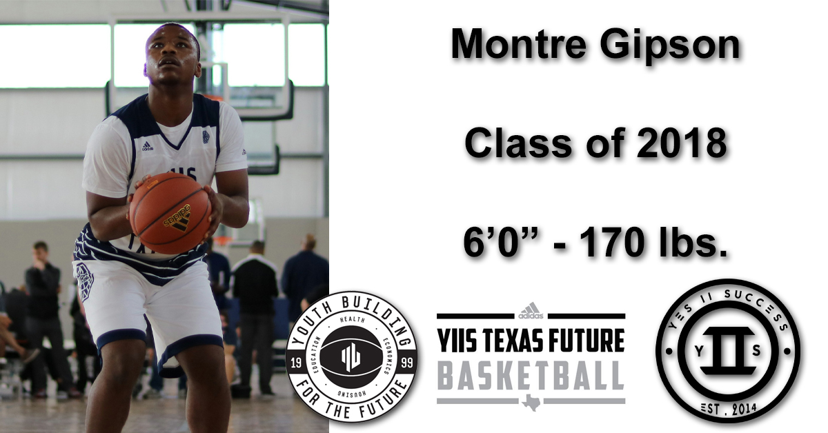 Montre Gipson - Class of 2018