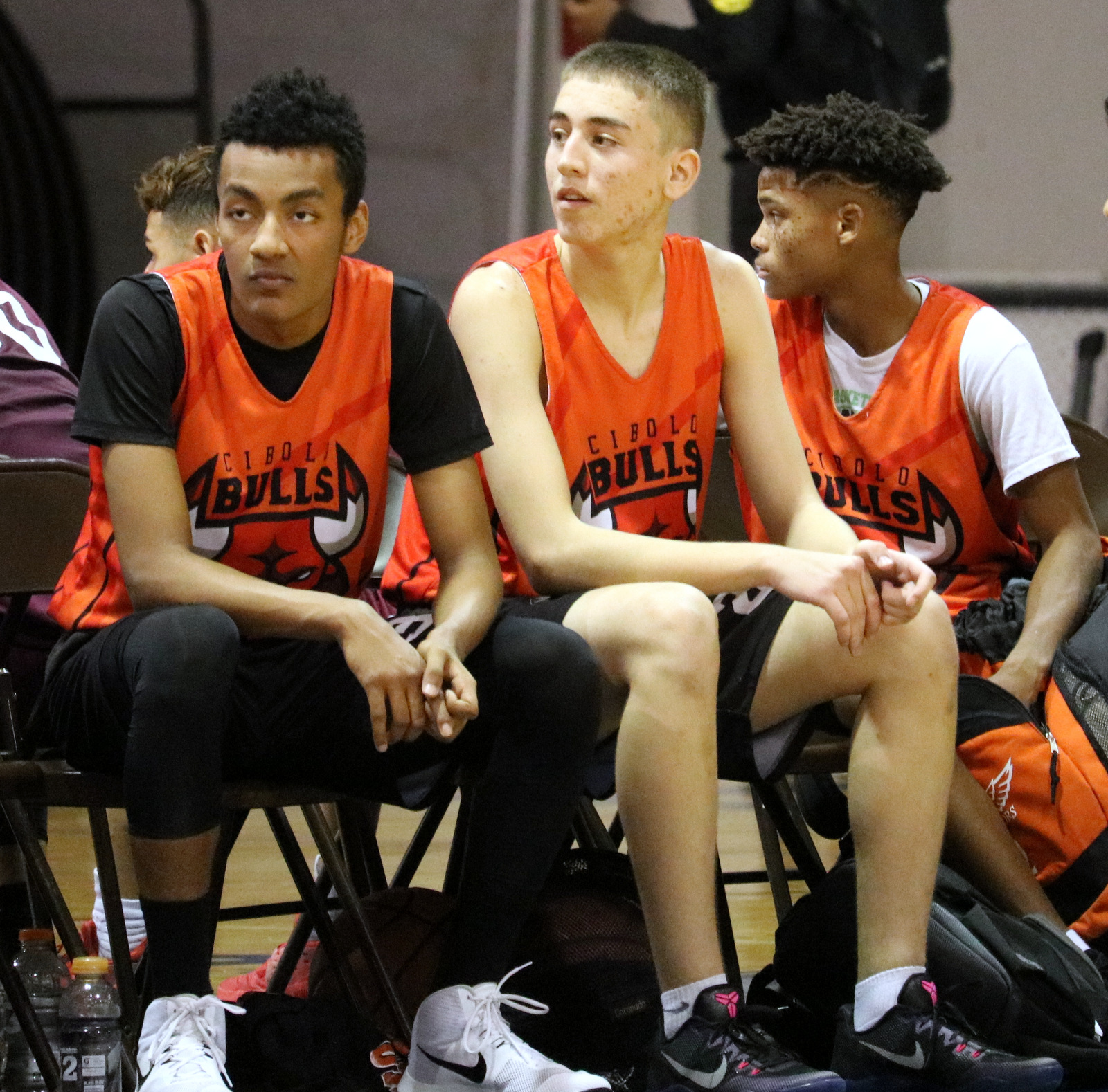 Mason and Gus Basketball