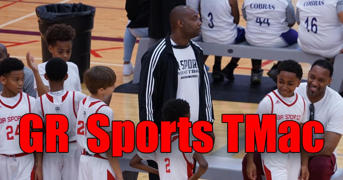 GR Sports TMac 4th Grade Boys: Spurs Basketball Tournament Highlights (2018)