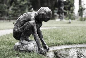 Stjålet skulptur