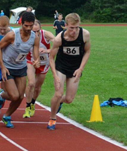 Deutsche Meisterschaften 10.000 m - Malte Propp holt Silber in der U20