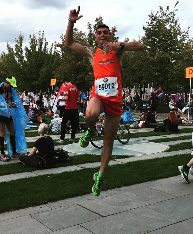 Tim Klatt mit starker Vorstellung beim Berlin-Marathon