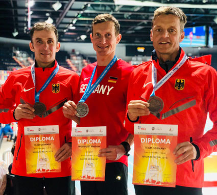 FIKO-Läufer gewinnen Medaillen bei Weltmeisterschaften