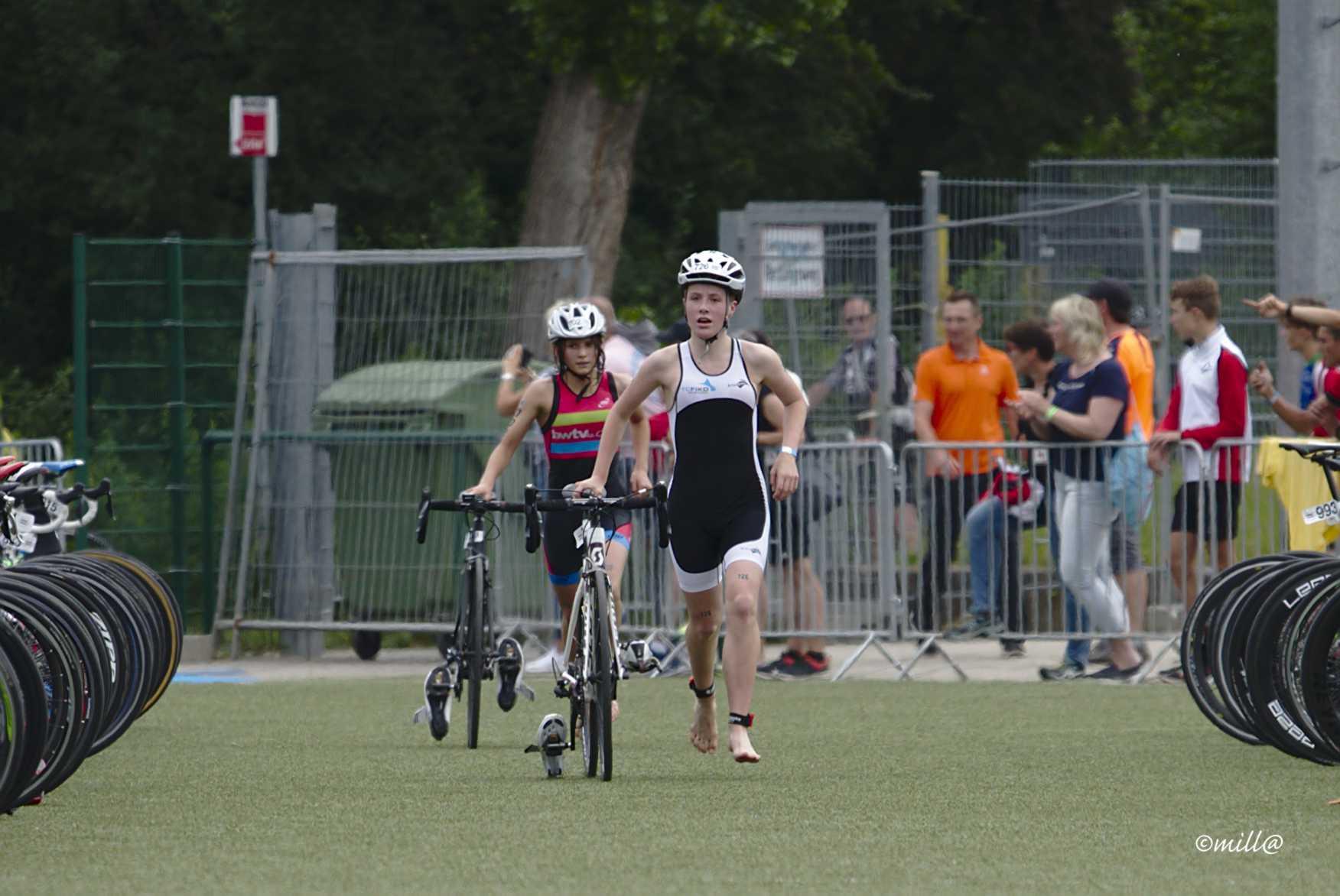 FIKO-Nachwuchs-Quintett löst Ticket für die Triathlon DM