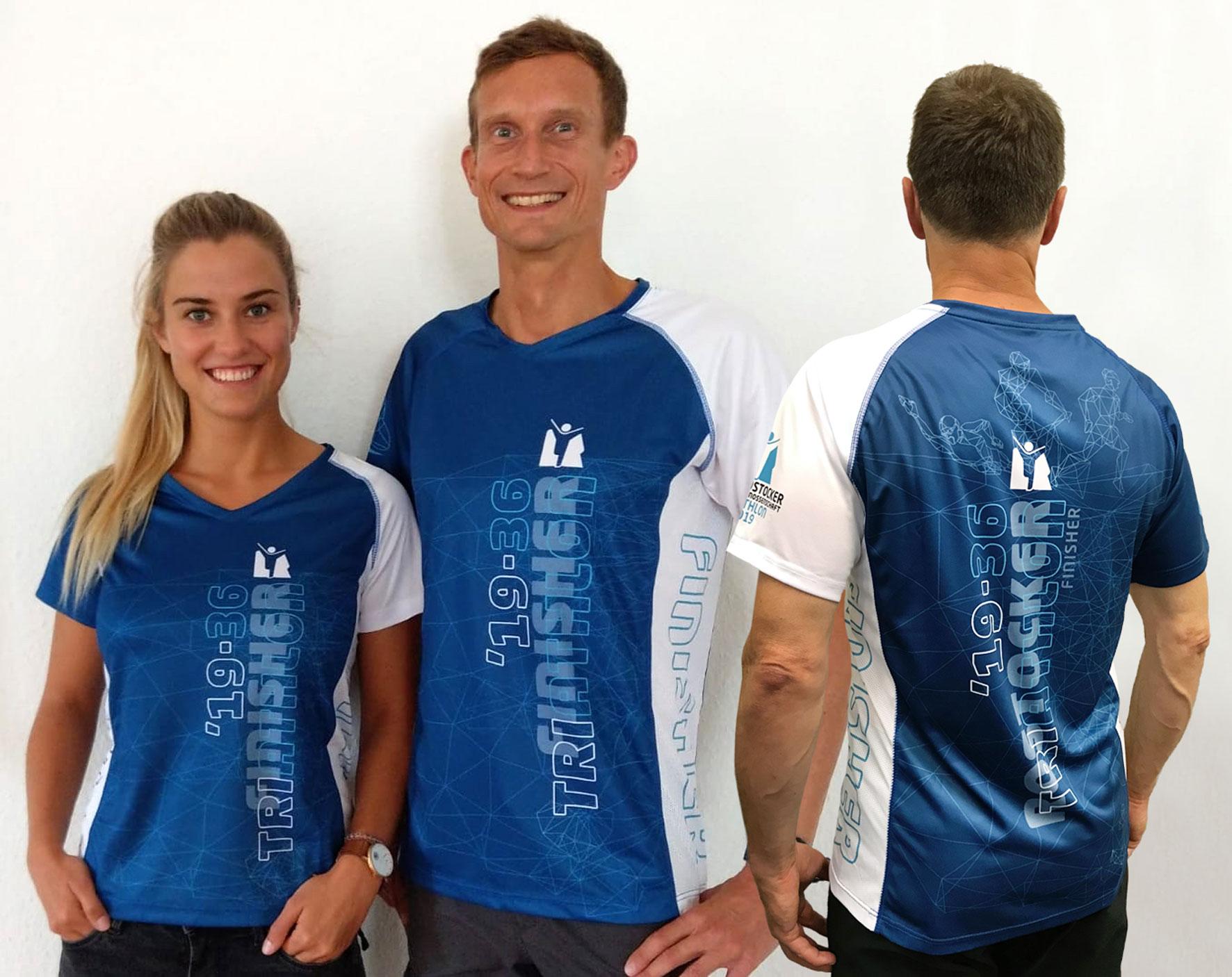 Offizielle Finisher-Shirts für den RoTri 2019 eingetroffen!