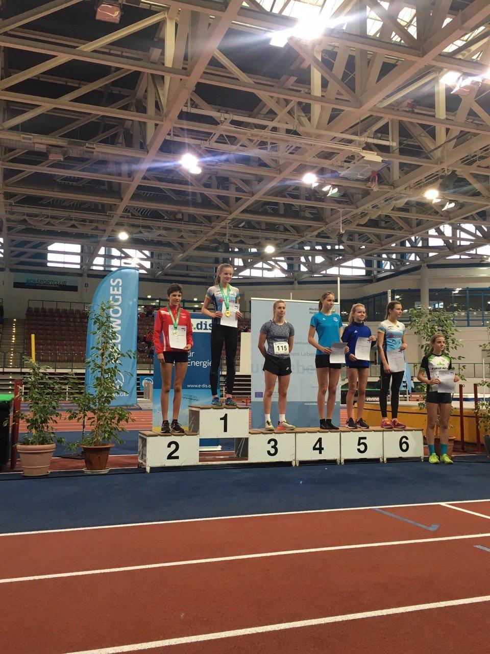 Zwei Titel bei den Langstrecken Hallen-Landesmeisterschaften