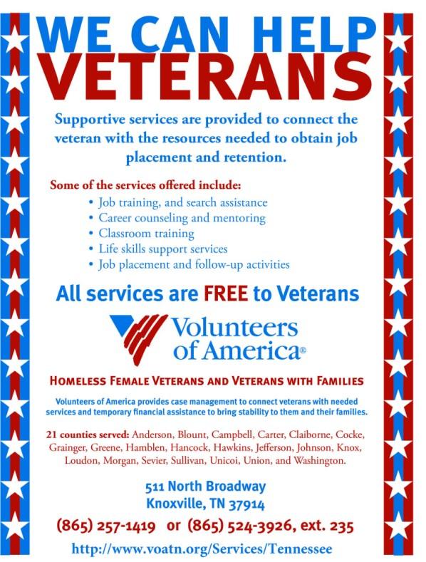 VOA TN Veteran Poster HFVVWF