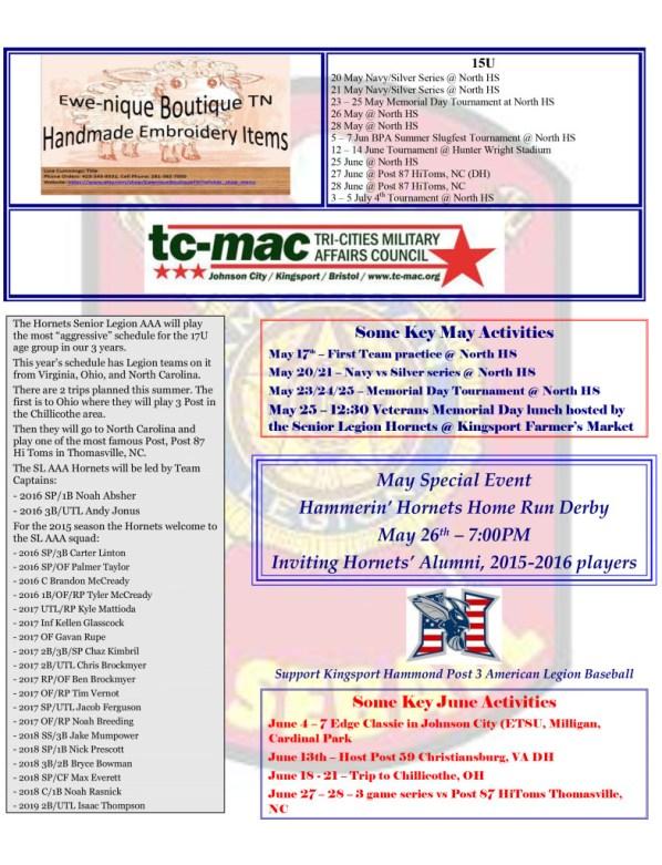 Pre Season Bulletin 2 TC MAC PG2