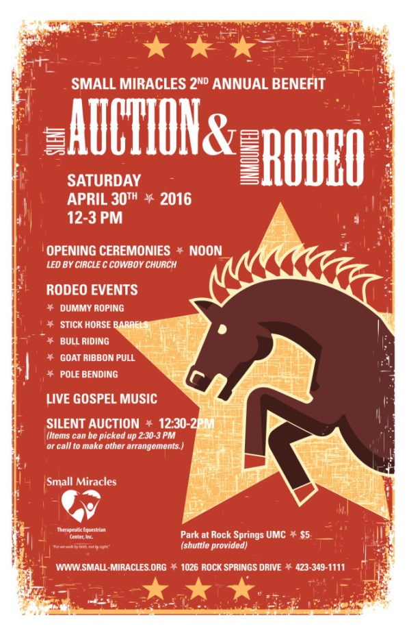 SM2016 Benefit Rodeo poster