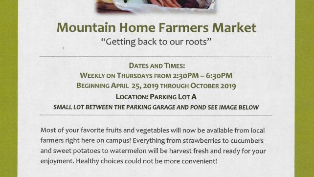 Mountain Home Farmers Market!