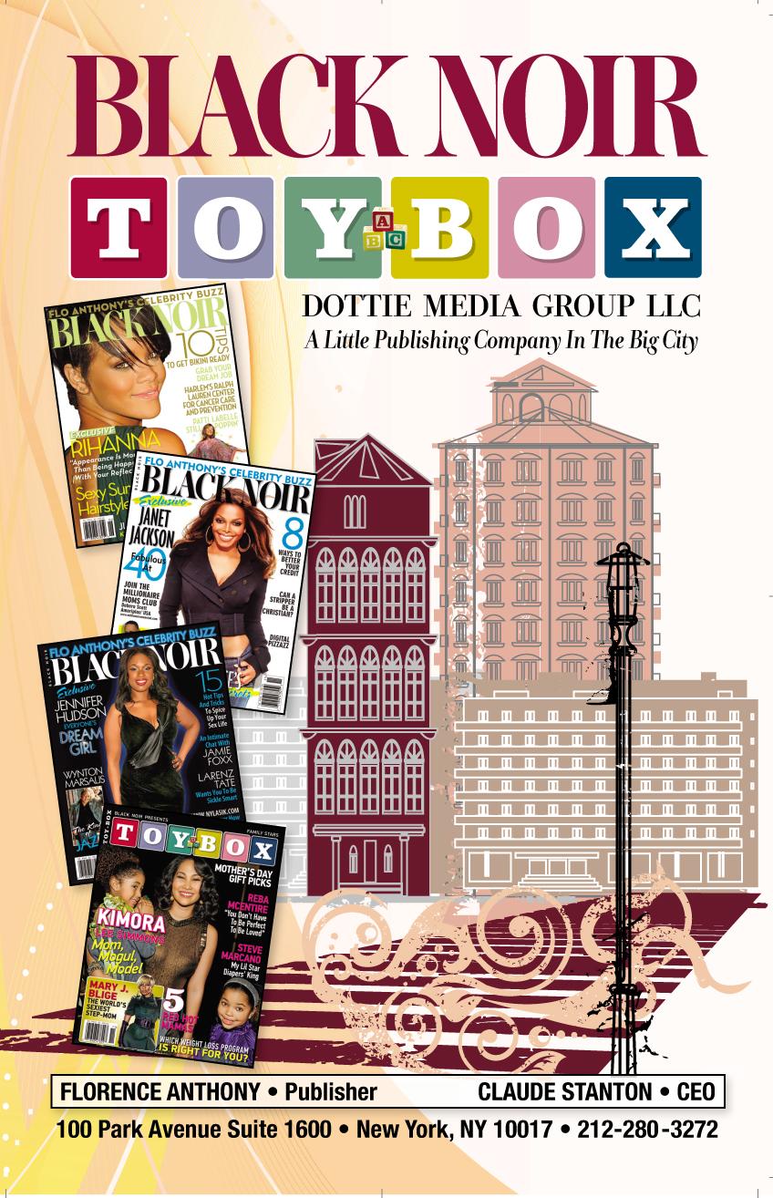 Black Noir and Celebrity Toy Box Magazine