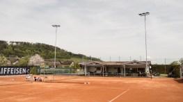 Tennisplatz und Clubhaus TC Balgach