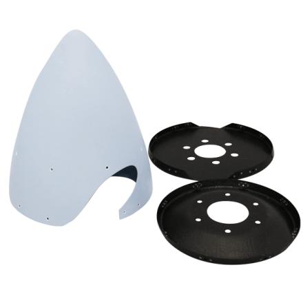 140-Spinner-kit Spinner Kit PA28-140/150/160/180(1-1760) (Cherokee) TCB Composite Piper
