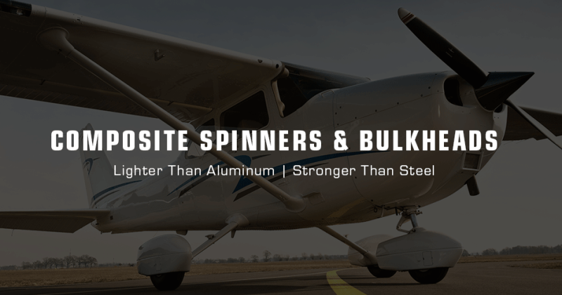 TCB Composite Cessna Spinners and Bulkheads