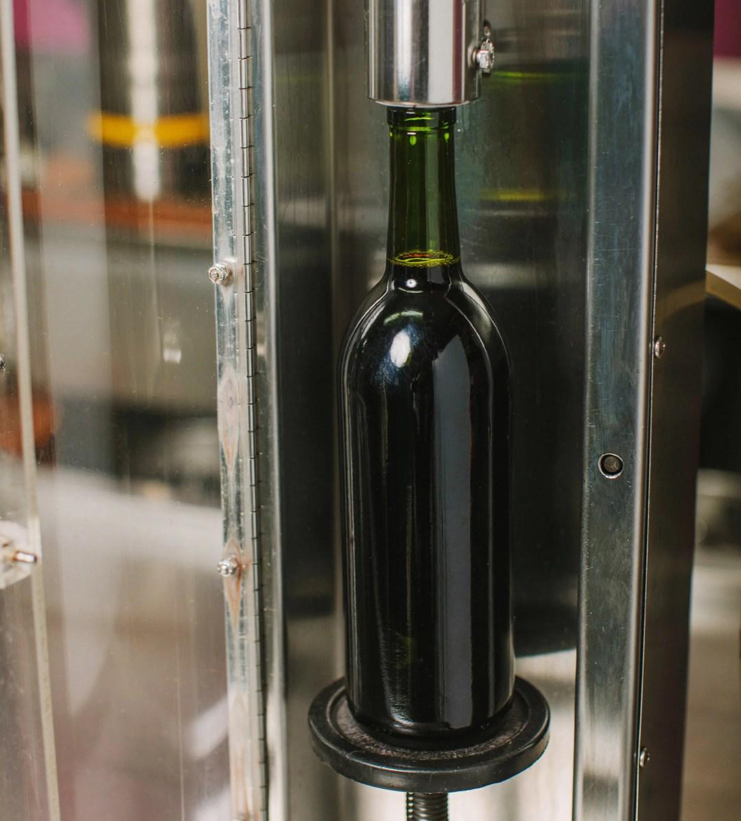 Terminal City Brewing Image Wine Bottling