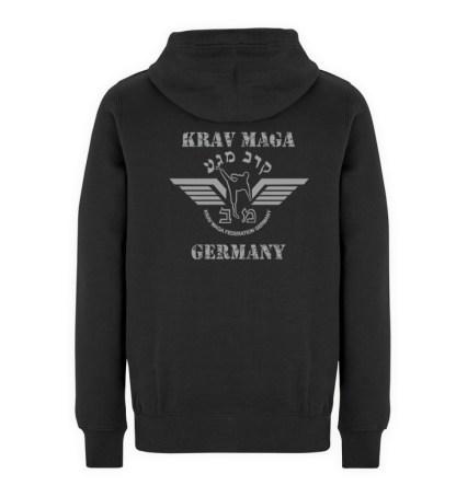 Krav Maga federation Germany Hoodie - Unisex Premium Kapuzenpullover-16