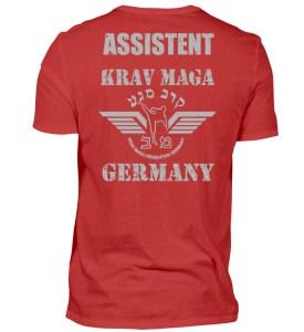 KMFG Assistent (Blue-Brown Belt) - Herren Shirt-4