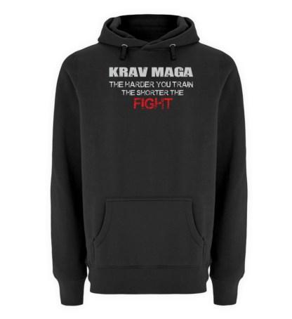 Krav Maga - The Harder You Train... - Unisex Premium Kapuzenpullover-16