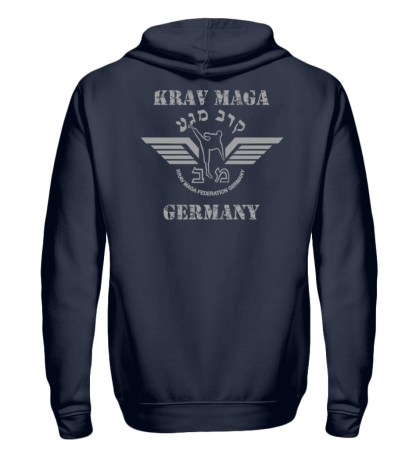 Krav Maga federation Germany Hoodie - Unisex Kapuzenpullover Hoodie-1698