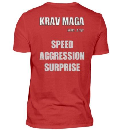 Speed Aggression Surprise - Herren Premiumshirt-4