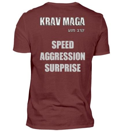 Speed Aggression Surprise - Herren Premiumshirt-3192