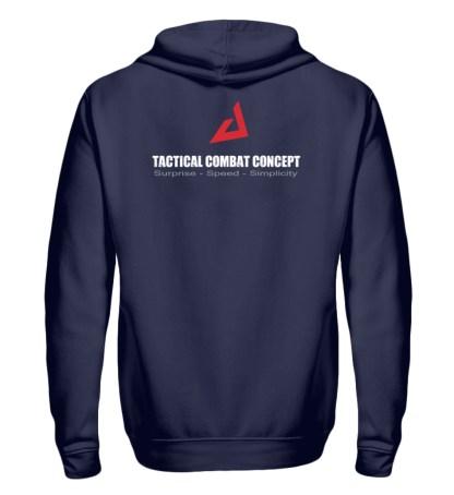 Tactical Combat Concept - Zip-Hoodie-198