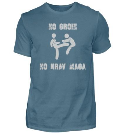 No Groin - No Krav Maga - Herren Shirt-1230