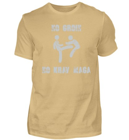 No Groin - No Krav Maga - Herren Shirt-224