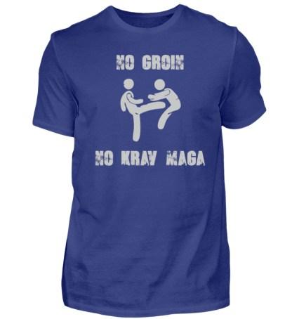 No Groin - No Krav Maga - Herren Premiumshirt-2962