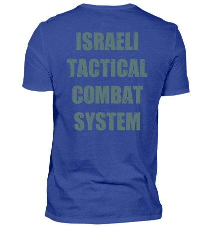 Israeli Tactical Combat System - Herren Premiumshirt-27