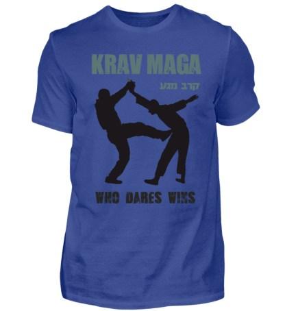 Krav Maga - Who Dares Wins - Herren Shirt-668